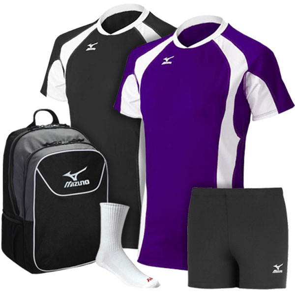 Mizuno Elite 9 S/S Techno Volley (Complete Package)