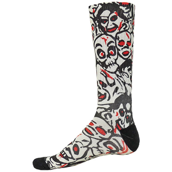 Red Lion Zombie Sock