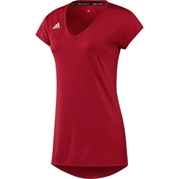 finest selection 75267 4bb78 Adidas Women's Hi-Lo Cap Sleeve Volleyball Jersey
