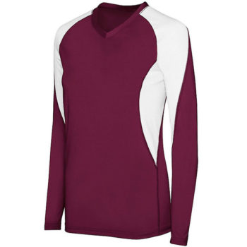 High Five Ladies Long Sleeve Court Jersey