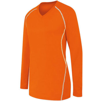 High Five Ladies Long Sleeve Solid Jersey